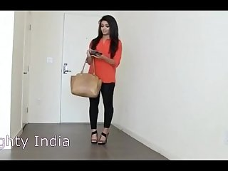 20 year old girl from India First threesome