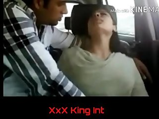 Indian Shy Girls In the Car and See What Happenss!