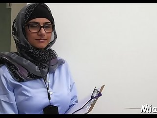 Doggy-style fuck for an arab cutie