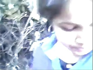 indian college teen in outdoor